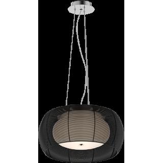 ZUMA LINE Lampa wewnętrzna wisząca TANGO, MD1104-2 Black, czarny.