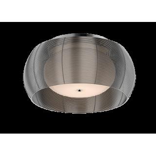 ZUMA LINE Lampa wewnętrzna sufitowa TANGO, MX1104-2L Silver, srebrny.