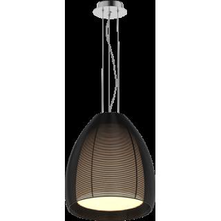 ZUMA LINE Lampa wewnętrzna wisząca PICO, MD9023-1L Black, czarny.