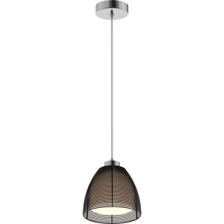 ZUMA LINE Lampa wewnętrzna wisząca PICO, MD9023-1S Black, czarny.