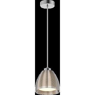 ZUMA LINE Lampa wewnętrzna wisząca PICO, MD9023-1S Silver, srebrny.