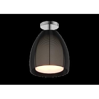 ZUMA LINE Lampa wewnętrzna sufitowa PICO, MX9023-1L Black, czarny.