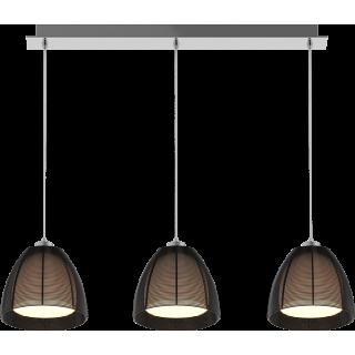 ZUMA LINE Lampa wewnętrzna wisząca PICO, MD9023-3B Black, czarny.