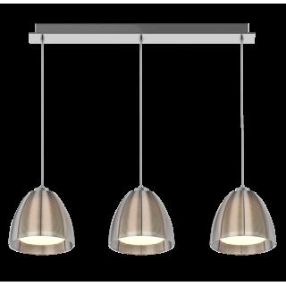 ZUMA LINE Lampa wewnętrzna wisząca PICO, MD9023-3B Silver, srebrny.