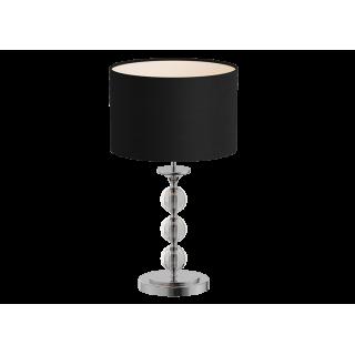 ZUMA LINE Lampa wewnętrzna stołowa REA, RLT93163-1B, czarny.