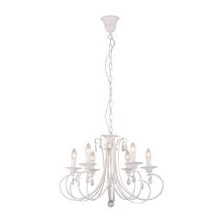 ZUMA LINE Lampa wewnętrzna wisząca NOVIA, RLD94217-6A, biały.