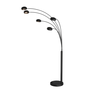 ZUMA LINE Lampa wewnętrzna podłogowa ZODIAC, TS-5805-BK, czarny.