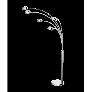 ZUMA LINE Lampa wewnętrzna podłogowa ZODIAC, TS-5805, srebrny.