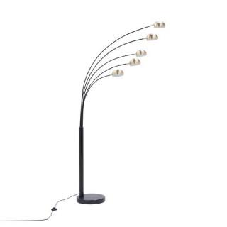 ZUMA LINE Lampa wewnętrzna podłogowa ZODIAC, TS-5805-BKBB, złoty, czarny.
