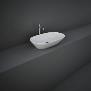 RAK CERAMICS Variant Umywalka 60x36 cm nablatowa, owalna, biały połysk. WYSYŁKA w 24h GRATIS !!!