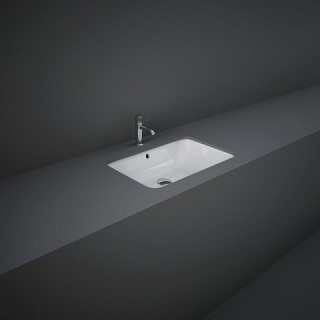 RAK CERAMICS Variant Umywalka 55x36 cm podblatowa, prostokątna, biały połysk. WYSYŁKA w 24h GRATIS !!!