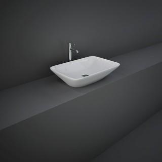 RAK CERAMICS Variant Umywalka 55x36 cm nablatowa, prostokątna, biały połysk. WYSYŁKA w 24h GRATIS !!!