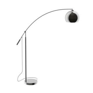 ZUMA LINE Lampa wewnętrzna podłogowa MANHATTAN, TS-061121M, srebrny.