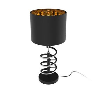 ZUMA LINE Lampa wewnętrzna stołowa TINA, TL180515-2, czarny.