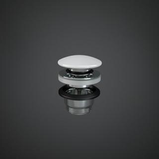 RAK CERAMICS  Duo Korek klik-klak z maskownicą ceramiczną, DUO000AWHA, biały połysk.