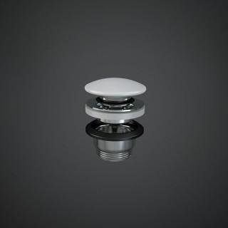 RAK CERAMICS  Duo Korek klik-klak z maskownicą ceramiczną, DUO000500A, biały mat.