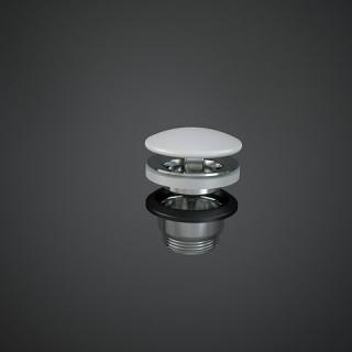 RAK CERAMICS  Duo Korek spustowy z maskownicą ceramiczną, DUO002500A, biały mat.