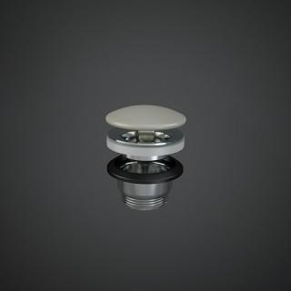 RAK CERAMICS  Duo Korek spustowy z maskownicą ceramiczną, DUO002505A, beżowy mat.