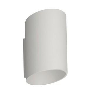 ZUMA LINE Lampa wewnętrzna kinkiet SLICE WL, 50603-WH white, biały.