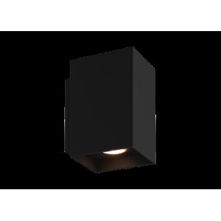 ZUMA LINE Lampa wewnętrzna kinkiet SANDY WL SQUARE, 92698 black, czarny.