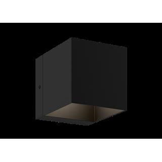 ZUMA LINE Lampa wewnętrzna kinkiet TRANSFER WL, 90842 black, czarny.