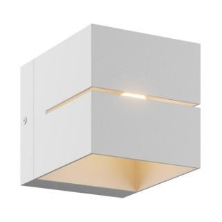 ZUMA LINE Lampa wewnętrzna kinkiet TRANSFER WL2, 91066 white, biały.