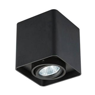 ZUMA LINE Lampa wewnętrzna Spot QUADRY SL 1, 20039-BK black, czarny.