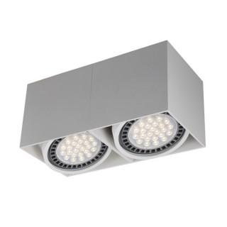 ZUMA LINE Lampa wewnętrzna Spot BOX 2, ACGU10-116 white, biały.