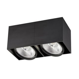 ZUMA LINE Lampa wewnętrzna Spot BOX 2, ACGU10-117 black, czarny.