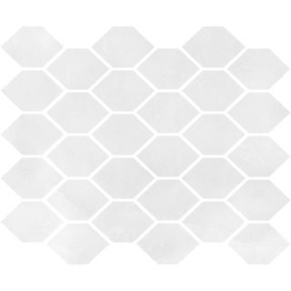 NOWA GALA Mozaika M-h-AQM 01 poler gres rektyfikowany 27x32cm Gat.1