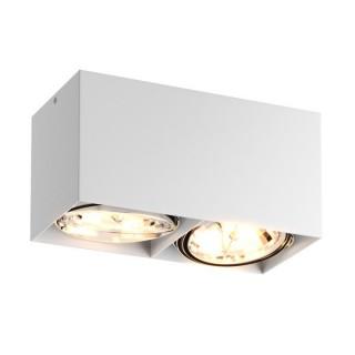 ZUMA LINE Lampa wewnętrzna Spot BOX SL 2, 89949-G9 white, biały.