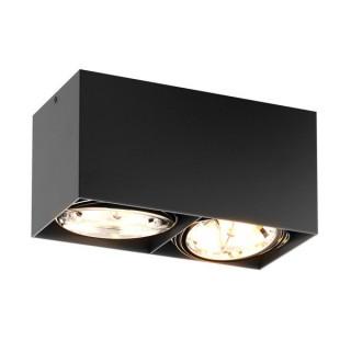 ZUMA LINE Lampa wewnętrzna Spot BOX SL 2, 90433-G9 black, czarny.