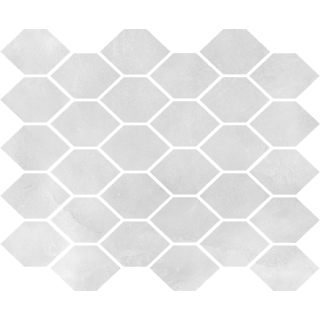NOWA GALA Mozaika M-h-AQM 12 poler gres rektyfikowany 27x32cm Gat.1