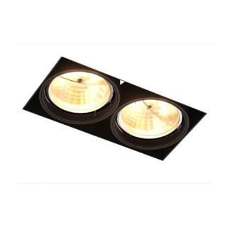 ZUMA LINE Lampa wewnętrzna Spot ONEON DL 111-2, 94364-BK black, czarny.