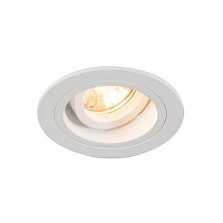 ZUMA LINE Lampa wewnętrzna Spot CHUCK DL ROUND, 92699 white, biały.