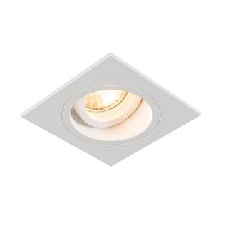 ZUMA LINE Lampa wewnętrzna Spot CHUCK DL SQUARE, 92703 white, biały.