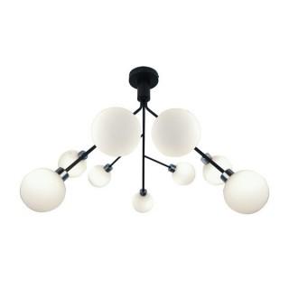 ZUMA LINE Lampa wewnętrzna sufitowa CARACAS, P17200, czarny, biały.