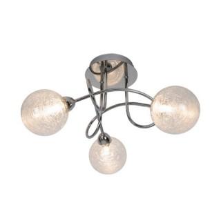 ZUMA LINE Lampa wewnętrzna sufitowa BRAVA, CL16022-3, srebrny.