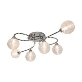 ZUMA LINE Lampa wewnętrzna sufitowa BRAVA, CL16022-6, srebrny.