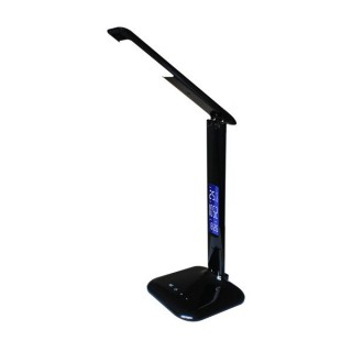ZUMA LINE Lampa wewnętrzna stołowa, H1408S-BCK, czarny.