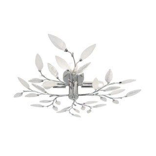 ZUMA LINE Lampa wewnętrzna sufitowa LIA, P749A, srebrny.