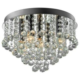 ZUMA LINE Lampa wewnętrzna sufitowa ALEX, RLX94874-5, srebrny.