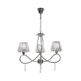 ZUMA LINE Lampa wewnętrzna wisząca PARIA, P15090-3, srebrny.