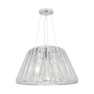 ZUMA LINE Lampa wewnętrzna wisząca PARIA, P15090-1, srebrny.