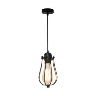 ZUMA LINE Lampa wewnętrzna wisząca HORTA, P14030C, czarny.
