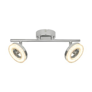 ZUMA LINE Lampa wewnętrzna sufitowa DRISO, LED16032A-2TU, srebrny.