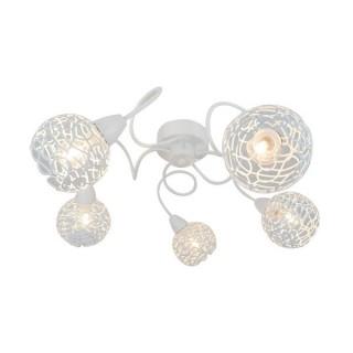 ZUMA LINE Lampa wewnętrzna sufitowa OLTEN, R5017002-5CL, biały.