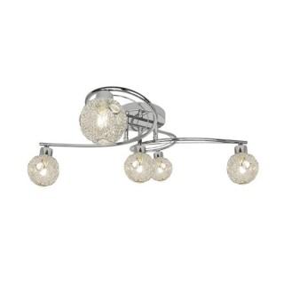 ZUMA LINE Lampa wewnętrzna sufitowa NICOLA, G916008-5CL, srebrny.