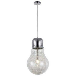 ZUMA LINE Lampa wewnętrzna wisząca BULB, RLD93024-1A, transparentny.