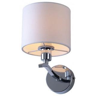 ZUMA LINE Lampa wewnętrzna kinkiet CARMEN, RLB94103-1, beżowy, srebrny.